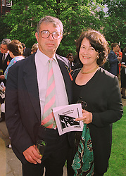 MR & MRS TOBY JESSEL he is the former MP at a reception in London on 22nd June 1998.MIP 2
