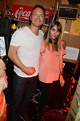 PETE TONG and BECKY TONG at the launch of Artegee held at The Wellington Club, 116A Knightsbridge, London on 11th June 2013.