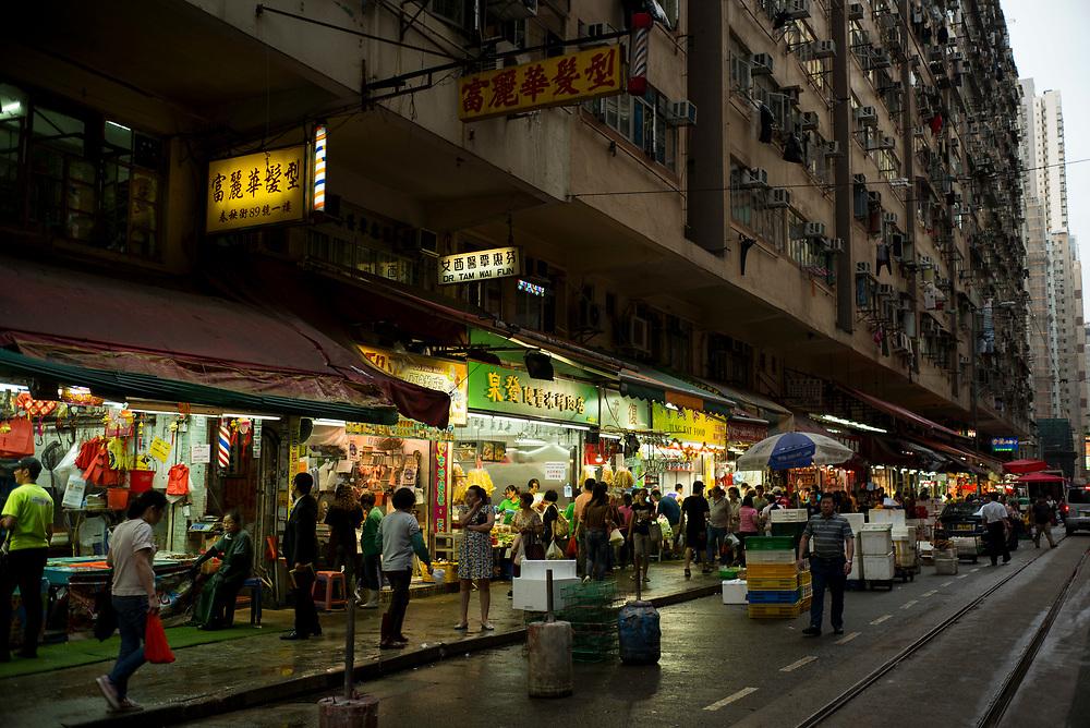 Hong Kong | 04.05.2017: Hong Kong <br /> <br /> hier: Chung Yeung Street<br />  <br /> Sascha Rheker<br /> 20170504<br /> <br /> [Inhaltsveraendernde Manipulation des Fotos nur nach ausdruecklicher Genehmigung des Fotografen. Vereinbarungen ueber Abtretung von Persoenlichkeitsrechten/Model Release der abgebildeten Person/Personen liegt/liegen nicht vor.]