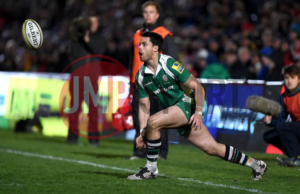 London Irish full back, Sean Maitland  - Mandatory by-line: Joe Meredith/JMP - 26/03/2016 - RUGBY - Sixways Stadium - Worcester, England - Worcester Warriors v London Irish - Aviva Premiership