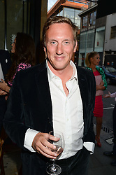 HARRY BECHER at an evening of Dinner & Dancing at Daphne's, 112 Draycott Avenue, London SW3 on 24th July 2013.