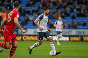Jason Lowe of Bolton Wanderers on the attack during the EFL Sky Bet League 1 match between Bolton Wanderers and Milton Keynes Dons at the University of  Bolton Stadium, Bolton, England on 16 November 2019.