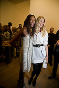 NAOMI CAMPBELL; CLAUDIA SCHIFFER.  Mario Testino: Obsessed by You -  private view<br />