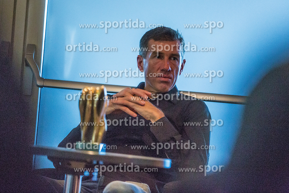 Srecko Katanec, head coach of national soccer team during the 2015 Slovenia Hall of Fame induction ceremony, on August 27, 2015 in Arena Stozice, Ljubljana, Slovenia. Photo by Grega Valancic / Sportida
