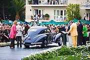 Pebble Beach Concours de Elegance 2008 Best of show, a 1938 Alfa Romeo 8C 2900B Touring Berlinetta.