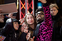 Actor Ranveer Singh with fans at the premiere gala screening of the film Gully Boy at the Berlinale International Film Festival, on Saturday 9th February 2019, Berlin, Germany.