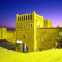 Kasbah.<br /> Ouarzazate, Morocco.