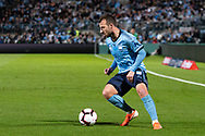 SYDNEY, AUSTRALIA - MAY 12: Sydney FC forward Adam Le Fondre (9) controls the ball at the Elimination Final of the Hyundai A-League Final Series soccer between Sydney FC and Melbourne Victory on May 12, 2019 at Netstrata Jubilee Stadium in Sydney, Australia. (Photo by Speed Media/Icon Sportswire)