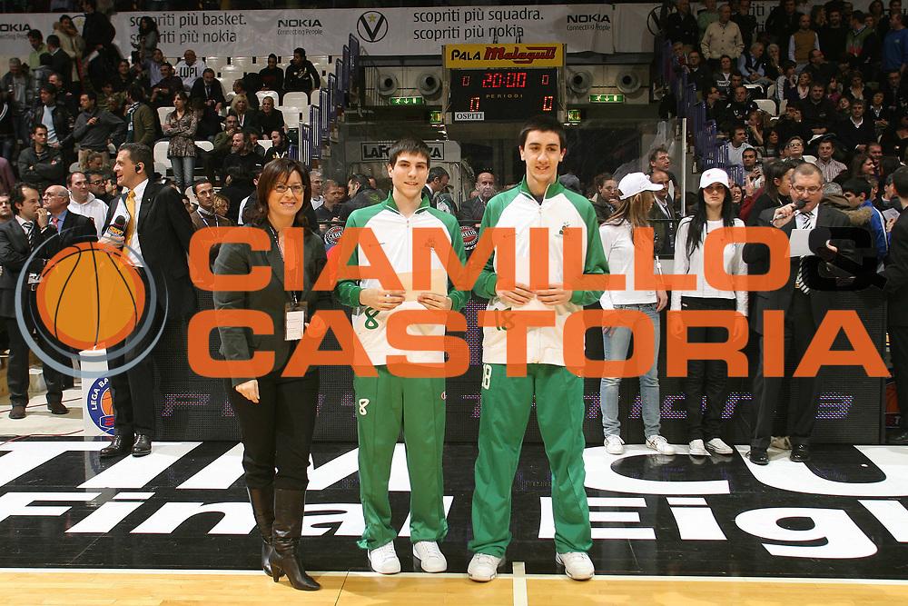 DESCRIZIONE : Bologna Basket For Life 2008 Premiazione Torneo U17 <br /> GIOCATORE : <br /> SQUADRA : <br /> EVENTO : Basket For Life 2008 <br /> GARA : <br /> DATA : 10/02/2008 <br /> CATEGORIA : Premiazione <br /> SPORT : Pallacanestro <br /> AUTORE : Agenzia Ciamillo-Castoria/M.Marchi