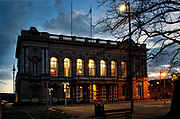 Grimsby, Town Hall at Night