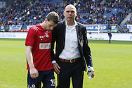 Onderwerp/Subject: Willem II - Eredivisie<br /> Reklame:  <br /> Club/Team/Country: <br /> Seizoen/Season: 2012/2013<br /> FOTO/PHOTO: Marc HOCHER (L) of Willem II and Coach Jurgen STREPPEL (R) of Willem II always last leaving the pitch during the warming up before the match. (Photo by PICS UNITED)<br /> <br /> Trefwoorden/Keywords: <br /> $94 ±1355241558607 ±1355241558607<br /> Photo- & Copyrights © PICS UNITED <br /> P.O. Box 7164 - 5605 BE  EINDHOVEN (THE NETHERLANDS) <br /> Phone +31 (0)40 296 28 00 <br /> Fax +31 (0) 40 248 47 43 <br /> http://www.pics-united.com <br /> e-mail : sales@pics-united.com (If you would like to raise any issues regarding any aspects of products / service of PICS UNITED) or <br /> e-mail : sales@pics-united.com   <br /> <br /> ATTENTIE: <br /> Publicatie ook bij aanbieding door derden is slechts toegestaan na verkregen toestemming van Pics United. <br /> VOLLEDIGE NAAMSVERMELDING IS VERPLICHT! (© PICS UNITED/Naam Fotograaf, zie veld 4 van de bestandsinfo 'credits') <br /> ATTENTION:  <br /> © Pics United. Reproduction/publication of this photo by any parties is only permitted after authorisation is sought and obtained from  PICS UNITED- THE NETHERLANDS