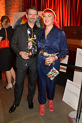 COUNT MANFREDIE DELLA GHERARDESCA and his wife PRINCESS DORA LOWENSTEIN at A Night of Reggae in aid of Save The Children held at The Roundhouse, Chalk Farm Road, London NW1 on 12th March 2014.