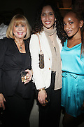 l to r: Lesley Dawson, Melanie Sharee and Rachelle Jones at The American Black Film Festival New York Buzz Party Sponsored by New York Women in Film & Television hosted by Tsia Moses on April 30, 2009 held at Sundaram Tagore Gallery in NYC.