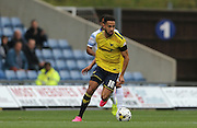 during the Sky Bet League 2 match between Oxford United and AFC Wimbledon at the Kassam Stadium, Oxford, England on 10 October 2015.