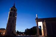 Vilnius Cathedral in Vilnius, Lithuania