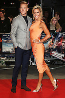Greg Rutherford, Natalie Lowe, Deepwater Horizon - European film premiere, Leicester Square, London UK, 26 September 2016, Photo by Richard Goldschmidt