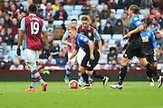 Bournemouth midfielder Matt Ritchie (30) during the Barclays Premier League match between Aston Villa and Bournemouth at Villa Park, Birmingham, England on 9 April 2016. Photo by Jon Hobley.