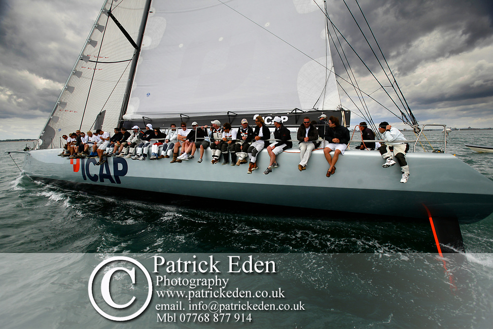 ICAP Leopard, Round the Island R, Round the Island Race 2009, Cowes, Isle of Wight,