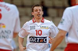 11-03-2005;VOLLEYBAL;FINAL4 TOP TEAMS CUP;ORTEC.NESSELANDE-OMNIWOLRD;ATHENE<br /> <br /> Ortec.Nesselande wint met 3-0 van Omniworld en speelt morgen de finale waarschijnlijk tegen Olympiacos - <br /> <br /> <br /> <br /> &copy;2005-WWW.FOTOHOOGENDOORN.NL