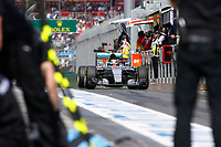 HAMILTON lewis (gbr) mercedes gp mgp w06 action  during 2015 Formula 1 championship at Melbourne, Australia Grand Prix, from March 13th to 15th. Photo DPPI / Frederic Le Floch.