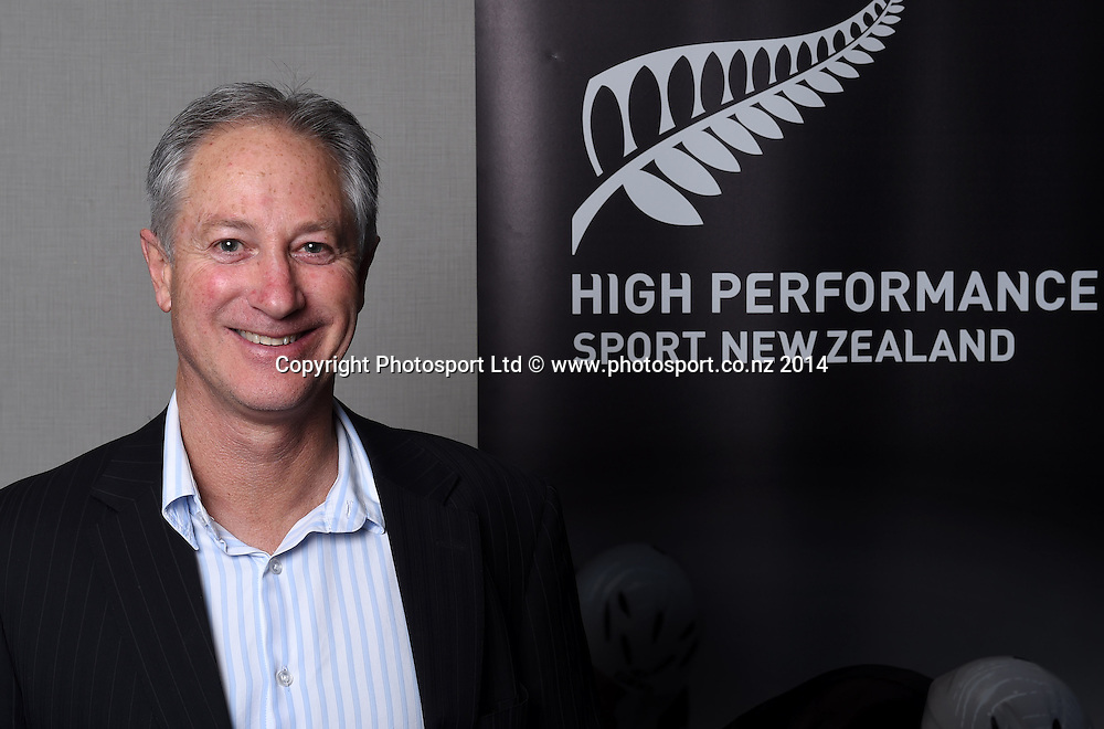Hockey New Zealand CEO Malcolm Harris. High Performance Sport New Zealand Coach Recognition Dinner, Waipuna Lodge, Auckland, New Zealand. Thursday 2 October 2014. Photo: Andrew Cornaga / www.photosport.co.nz
