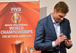 30-03-2015 NED: FIVB Drawing WCH Beach Volleyball, The Hague<br /> The Drawing of Lots for the FIVB Beach Volleyball World Championships The Netherlands 2015 will take place at the Mauritshuis art museum / Bas van de Goor