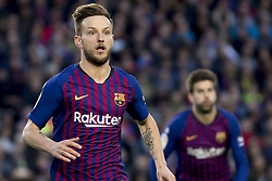 October 28, 2018 - Barcelona, Catalonia, Spain - Ivan Rakitic during the spanish league match between FC Barcelona and Real Madrid at Camp Nou Stadium in Barcelona, Catalonia, Spain on October 28, 2018  (Credit Image: © Miquel Llop/NurPhoto via ZUMA Press)
