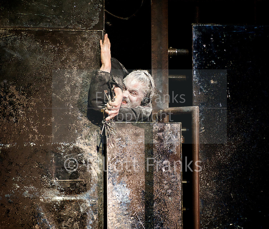 Tabac Rouge<br /> Compagnie du Hanneton <br /> at Sadler's Wells, London, Great Britain <br /> press photocall<br /> 25th March 2014 <br /> <br /> Choreodrama by James Thierree<br /> <br /> James Thierree<br /> Anna Calsina Forrellad<br /> Noemie Kim<br /> Matina Kokolaki <br /> Katell Le Brenn<br /> Piergiorgio Milano <br /> Thi Mai Nguyen<br /> Ioulia Plotnikova<br /> Manuel Rodriguez