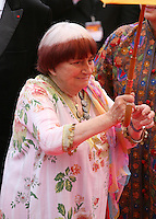 Agnès Varda, Jury Camera D'or President, at the gala screening of Jeune & Jolie at the 2013 Cannes Film Festival 16th May 2013