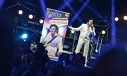 28.06.2019, Schladming, AUT, Rock the Roof 2019, im Bild Rusty Elvis Tribute Artist // Rusty Elvis Tribute Artist during the Rock the Roof Biker Meeting in Schladming, Austria on 2019/06/28. EXPA Pictures © 2019, PhotoCredit: EXPA/ JFK