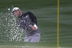 February 3, 2019 - Scottsdale, AZ, U.S. - SCOTTSDALE, AZ - FEBRUARY 03: Jimmy Walker blasts out of the sand trap on the second hole during the final round of the Waste Management Phoenix Open on February 3, 2019, at TPC Scottsdale in Scottsdale, Arizona.  (Photo by Will Powers/Icon Sportswire) (Credit Image: © Will Powers/Icon SMI via ZUMA Press)