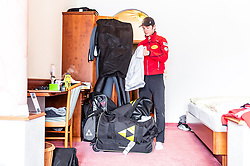 20.02.2019, Seefeld, AUT, FIS Weltmeisterschaften Ski Nordisch, Seefeld 2019, Nordische Kombination Reportage, im Bild Martin Fritz (AUT) // Martin Fritz of Austria during a Photoseries of Austrian Nordic Combined Team for the FIS Nordic Ski World Championships 2019. Seefeld, Austria on 2019/02/20. EXPA Pictures © 2019, PhotoCredit: EXPA/ JFK