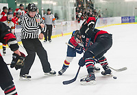 Belmont-Gilford versus Berlin NHIAA Division III semi final hockey at Plymouth State University.  Karen Bobotas for the Laconia Daily Sun