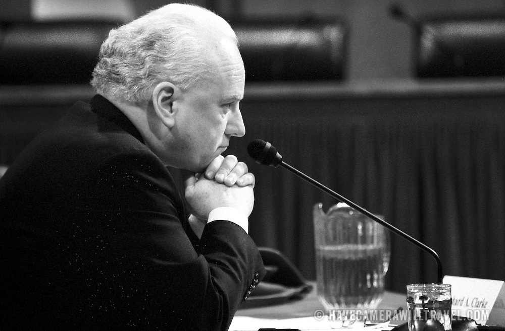 Richard Clarke, Former Coordinator for Counterterrorism, National Security Council, testifying before the 9/11 Commission's Public Hearing Number 8 on Wednesday, 24 March 2004.