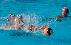 Damir Buric od Croatia vs Filip Filipovic of Serbia during waterpolo Semifinal Round match between National teams of Croatia and Serbia during the 13th FINA World Championships Roma 2009, on July 30, 2009, at the Stadio del Nuoto,  Foro Italico, Rome, Italy. Serbia won 12:11. (Photo by Vid Ponikvar / Sportida)