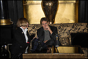 TIM BEVAN; JOAN WASHINGTON, Party to celebrate Vanity Fair's very British Hollywood issue. Hosted by Vanity Fair and Working Title. Beaufort Bar, Savoy Hotel. London. 6 Feb 2015