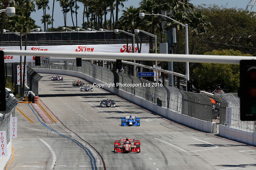 15-17 April, 2016, Long Beach, California<br /> , 9, Scott Dixon<br /> &copy;2016, Michael L. Levitt<br /> LAT Photo USA