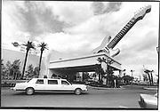 Las Vegas. 1993. Hard Rock Cafe.© Copyright Photograph by Dafydd Jones 66 Stockwell Park Rd. London SW9 0DA Tel 020 7733 0108 www.dafjones.com