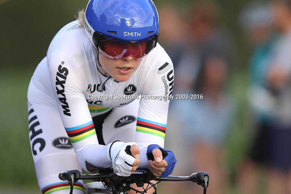 18-07-2016: Wielrennen: Thueringen Rundfahrt vrouwen: Zeulenroda<br />ZEULENRODA (DLD) wielrennen  <br />Linda Villumsen