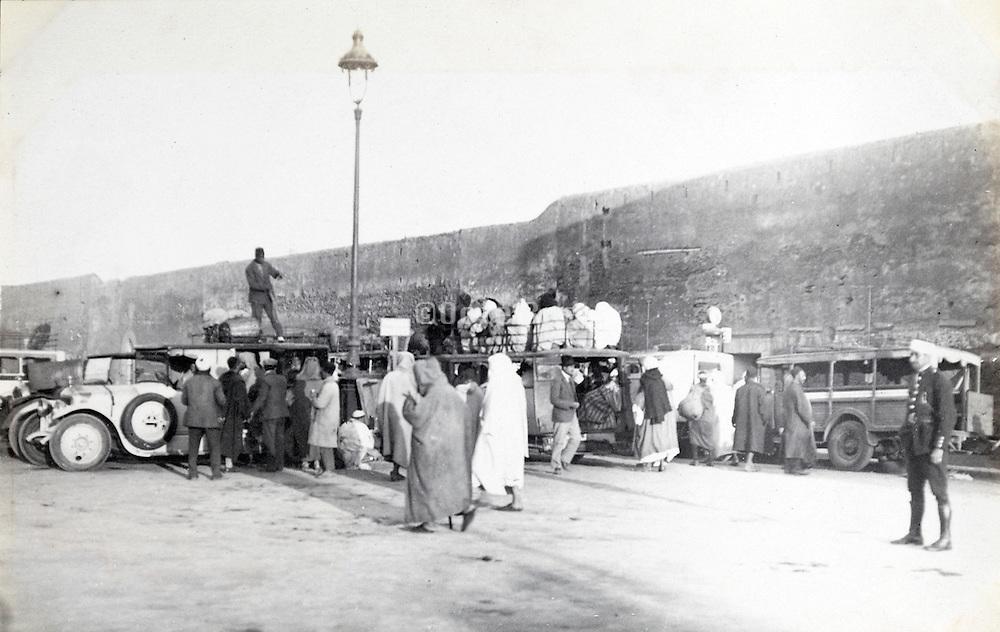 Morocco  city Rabat early 1900s