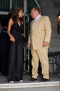 Christa de Souza and Andrew Neil. The Business Summer party hosted by Andrew Neil. Italian Hotel, Ritz Hotel. 12 July 2005. ONE TIME USE ONLY - DO NOT ARCHIVE  © Copyright Photograph by Dafydd Jones 66 Stockwell Park Rd. London SW9 0DA Tel 020 7733 0108 www.dafjones.com
