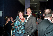 MERCEDES RUEHL; JEFF GOLDBLUM;  The Old Vic at the Vaudeville Theatre ' The Prisoner of Second Avenue'  press night. After-party at Jewel. 13 July 2010. -DO NOT ARCHIVE-© Copyright Photograph by Dafydd Jones. 248 Clapham Rd. London SW9 0PZ. Tel 0207 820 0771. www.dafjones.com.