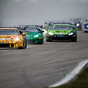 Lamborghini World Finals Race 2 : Gallardo and Huracan AM