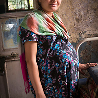 Pregnant women. Government Hospital in Aurangabad, Maharashtra, India