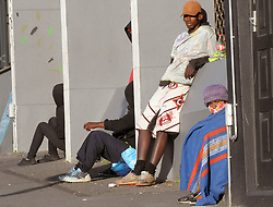 South Africa - Cape Town - 24 August 2020 - Patrons wait outside The Service Dining Rooms in Cantebury Road waiting for it to open at 9am on Monday Morning Picture: Tracey Adams/African News Agency (ANA)