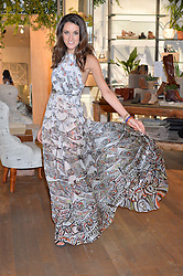 ROSANNA FALCONER at a party to celebrate the launch of Matthew Williamson: Fashion, Print and Colouring Book held at Anthropologie, 158 Regent Street, London on 8th September 2016.