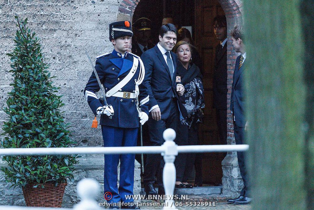 NLD/Delft/20131102 - Herdenkingsdienst voor de overleden prins Friso, prinses Christina en zoon prins Bernardo