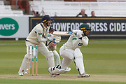 Hassan Azad is dropped at cover during the Specsavers County Champ Div 2 match between Middlesex County Cricket Club and Leicestershire County Cricket Club at Lord's Cricket Ground, St John's Wood, United Kingdom on 17 May 2019.