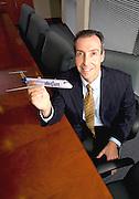 corporate portrait,Michael Falk Com Vest Group Chairman..