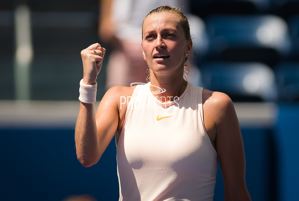 Petra Kvitova of the Czech Republic in action during the second round at the 2018 US Open Grand Slam tennis tournament, at Billie Jean King National Tennis Center in Flushing Meadow, New York, USA, August 30th 2018, Photo Rob Prange / SpainProSportsImages / DPPI / ProSportsImages / DPPI